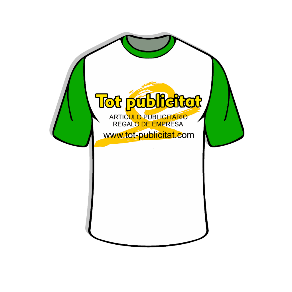 camiseta tot-publicitat